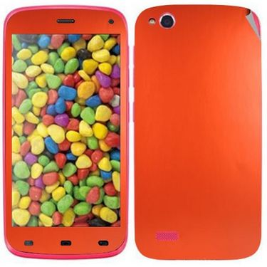 Snooky Mobile Skin Sticker For Gionee Elife E3 20942 - Orange