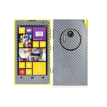 Snooky Mobile Skin Sticker For Nokia Lumia 1020 21023 - silver