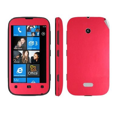 Snooky Mobile Skin Sticker For Nokia Lumia 510 20970 - Red
