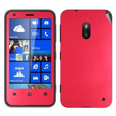 Snooky Mobile Skin Sticker For Nokia Lumia 620 20990 - Red