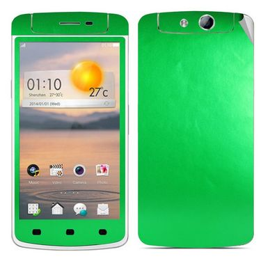 Snooky Mobile Skin Sticker For OPPO N1 Mini 20890 - Green