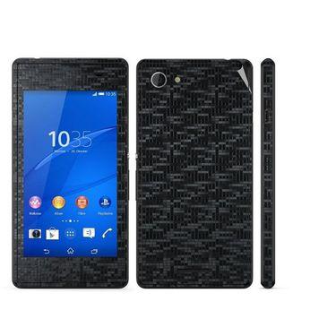 Snooky Mobile Skin Sticker For Sony Xperia E3 Dual 20858 - Black