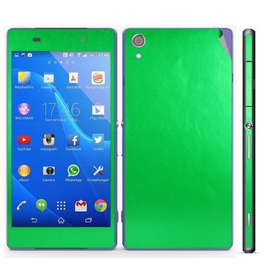 Snooky Mobile Skin Sticker For Sony Xperia Z2 20844 - Green