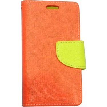 BMS lifestyle Mercury flip cover for Sony Xperia M2 - Orange