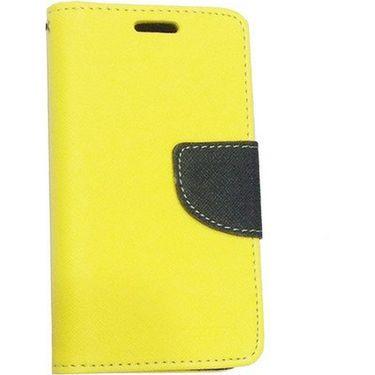 BMS lifestyle Mercury flip cover for Moto G - Yellow