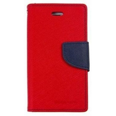 BMS lifestyle Mercury Wallet Flip Book Case Cover for iPad mini - Red