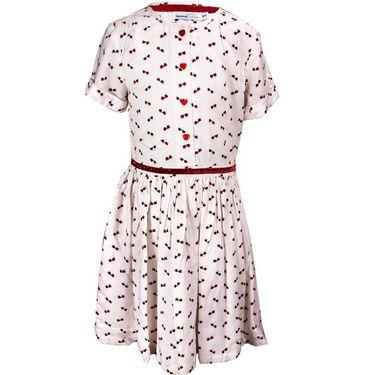 ShopperTree White printed Dress