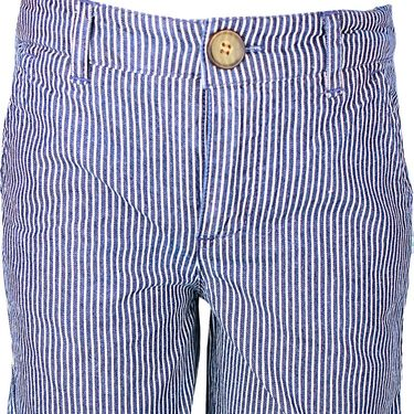 ShopperTree Denim Yarn Dyed Stripe Short