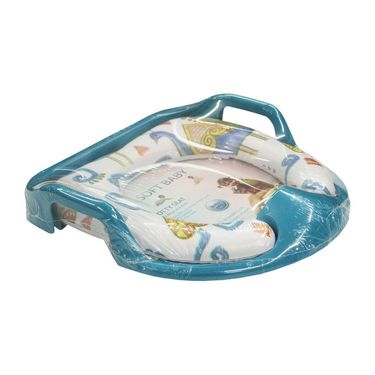 Wonderkids Blue Peacock Print Soft Baby Potty Seat_MW-800-PPPS