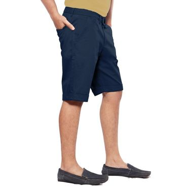 Uber Urban Cotton Shorts_15001abl - Dark Blue