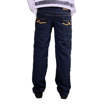Uber Urban Cotton Trouser_bndtrsdkbl - Dark Blue
