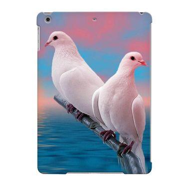 Snooky Digital Print Hard Back Case Cover For Apple iPad Air 23599 - Blue