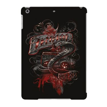 Snooky Digital Print Hard Back Case Cover For Apple iPad Air 23643 - Black