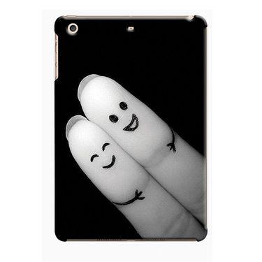 Snooky Digital Print Hard Back Case Cover For Apple iPad Mini 23807 - Black