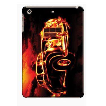 Snooky Digital Print Hard Back Case Cover For Apple iPad Mini 23778 - Black