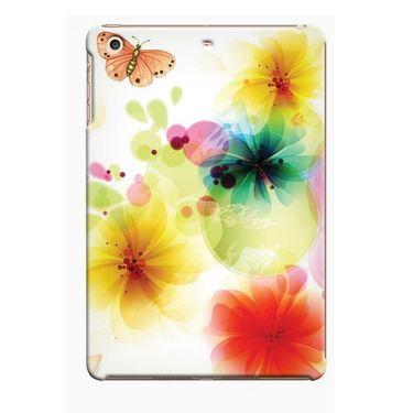 Snooky Digital Print Hard Back Case Cover For Apple iPad Mini 23797 - White