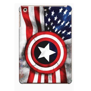 Snooky Digital Print Hard Back Case Cover For Apple iPad Mini 23813 - Blue