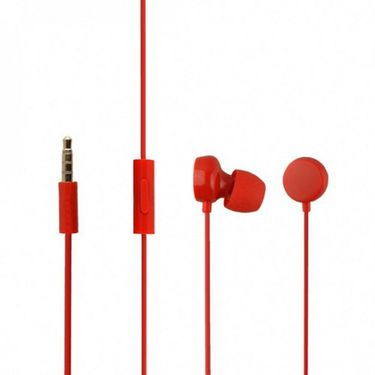 Flashmob Jelly earphone - Red