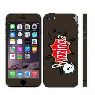 Snooky 28348 Digital Print Mobile Skin Sticker For Apple Iphone 5 - Multi