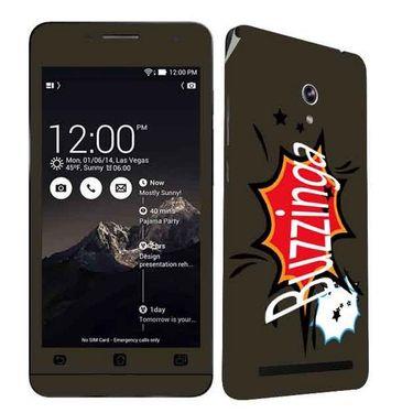 Snooky 27668 Digital Print Mobile Skin Sticker For Asus Zenfone 6 A600CG/A601CG - Multi