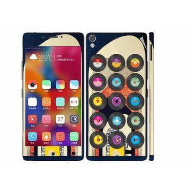 Snooky 27710 Digital Print Mobile Skin Sticker For Gionee Elife 5.1 - Multi