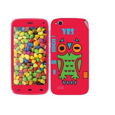 Snooky 27739 Digital Print Mobile Skin Sticker For Gionee Elife E3 - Rose Pink