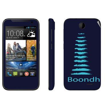Snooky 27824 Digital Print Mobile Skin Sticker For HTC Desire 310 - Blue
