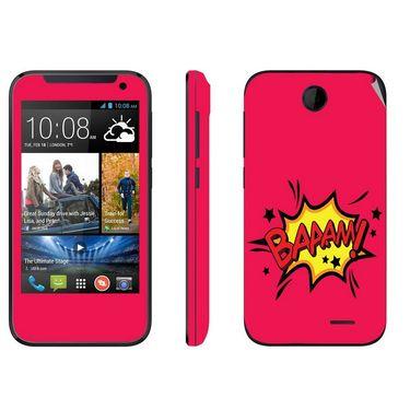 Snooky 27811 Digital Print Mobile Skin Sticker For HTC Desire 310 - Pink