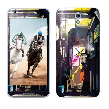 Snooky 28229 Digital Print Mobile Skin Sticker For HTC Desire 820 mini - Multi