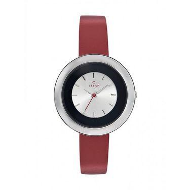 Titan Analog Round Dial Watch_2482sl01 - White