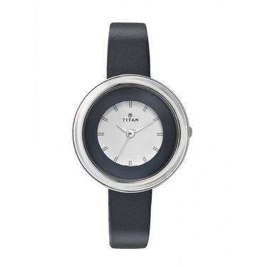 Titan Analog Round Dial Watch_2482sl02 - White