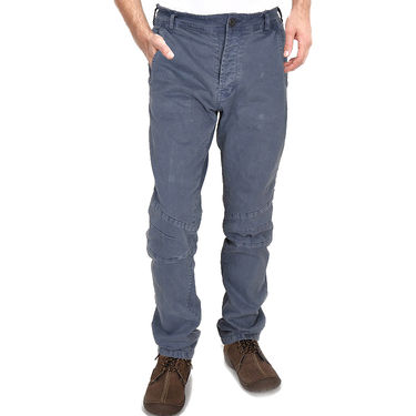 Branded Cotton Chinos_Gsgrych - Grey