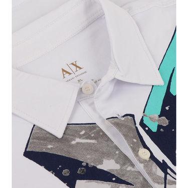 Branded Cotton Tshirt_1183wht - White