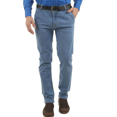 Branded Cotton Jeans_Npjwtx9 - Blue