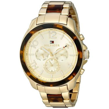 Tommy Hilfiger Round Dial Analog Watch_th1781394 - Silver