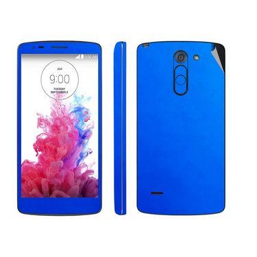 Snooky 38770 Mobile Skin Sticker For Lg G3 Stylus - Blue