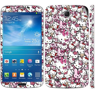 Snooky 38818 Digital Print Mobile Skin Sticker For Samsung Galaxy Mega 6.3 GT I9200 - Pink