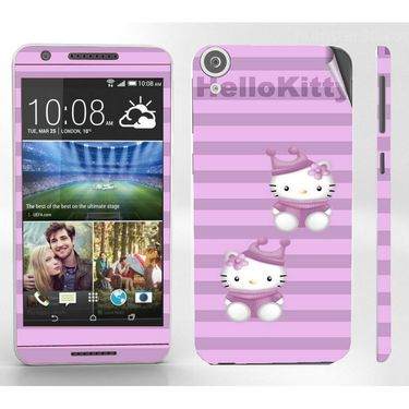 Snooky 38935 Digital Print Mobile Skin Sticker For HTC Desire 820 - Purple