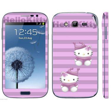 Snooky 39427 Digital Print Mobile Skin Sticker For Samsung Galaxy Grand Duos I9082 - Purple