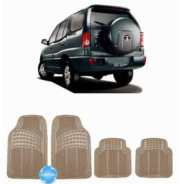 Digitru - Car Rubber Foot Mat Safari (Beige) _ DG20150065
