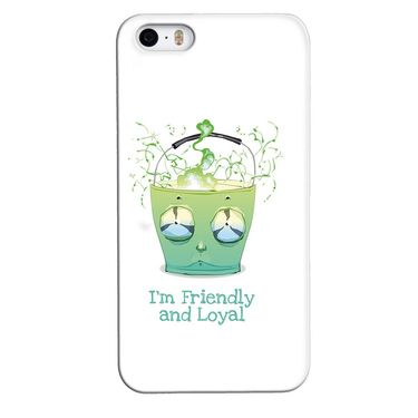 Snooky 35116 Digital Print Hard Back Case Cover For Apple iPhone 4s   - White