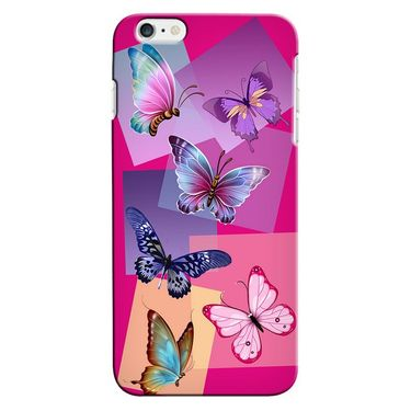 Snooky 35273 Digital Print Hard Back Case Cover For Apple iPhone 6 Plus - Pink