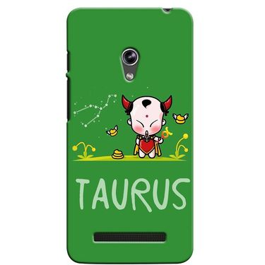 Snooky 36110 Digital Print Hard Back Case Cover For Asus Zenphone 5 - Green