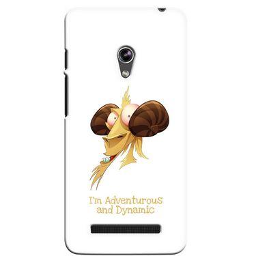Snooky 36128 Digital Print Hard Back Case Cover For Asus Zenphone 5 - White