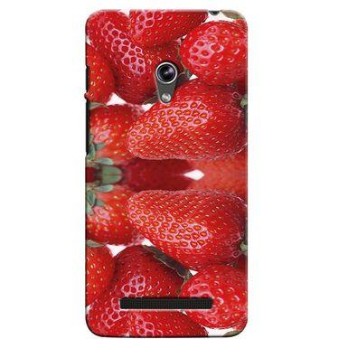 Snooky 36139 Digital Print Hard Back Case Cover For Asus Zenphone 5 - Red