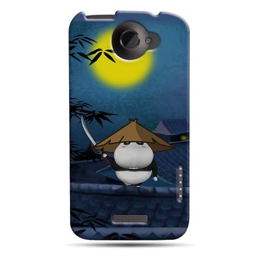Snooky 37260 Digital Print Hard Back Case Cover For HTC ONE X S720E - Blue