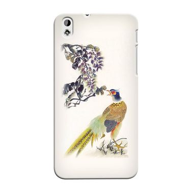 Snooky 37266 Digital Print Hard Back Case Cover For HTC Desire 816 - Cream