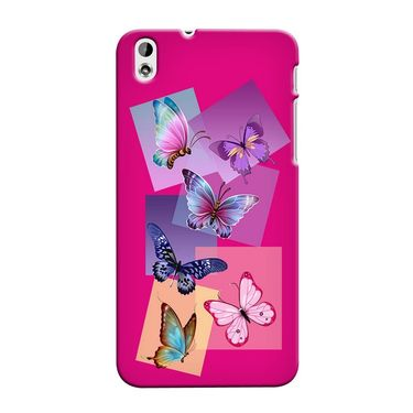 Snooky 37304 Digital Print Hard Back Case Cover For HTC Desire 816 - Pink