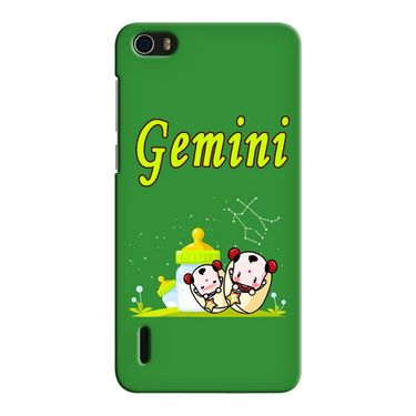 Snooky 37437 Digital Print Hard Back Case Cover For huawei honor 6 - Green