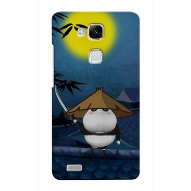 Snooky 37510 Digital Print Hard Back Case Cover For huawei Ascend Mate 7 - Blue